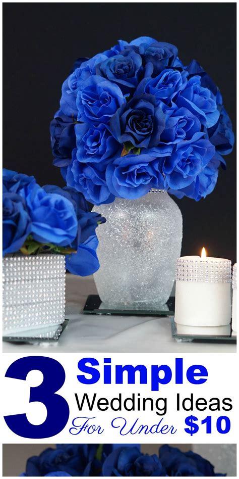3 royal blue wedding quincenera centerpiece ideas 10