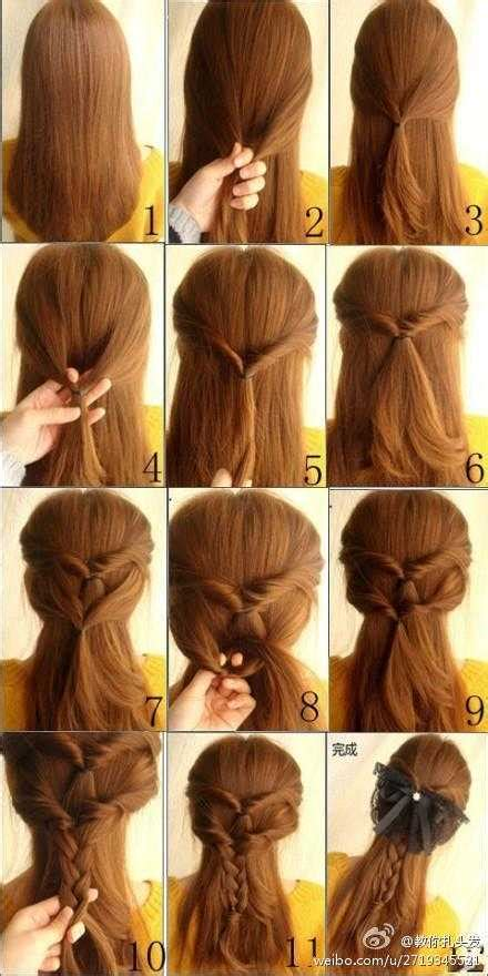 21 simple cute hairstyle tutorials style motivation
