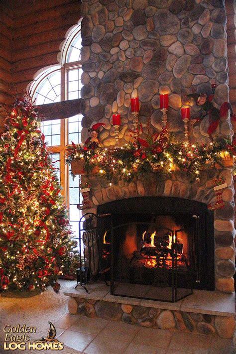 stunning christmas fire christmas fireplace