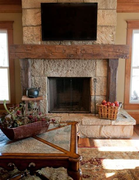reclaimed barn beam fireplace mantels rustic fireplace