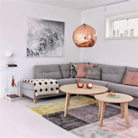20 remarkable inspiring grey living room ideas copper