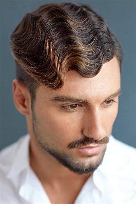 curly hairstyles men suit occasion menshaircuts