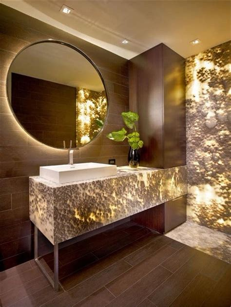 glam decor bathroom mirrors