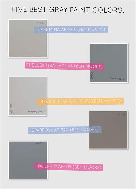 5 gray paint colors paint colors home