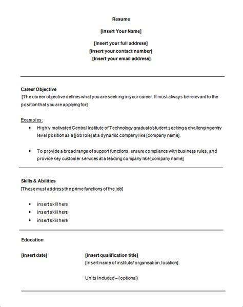 6 customer service resume templates doc free premium