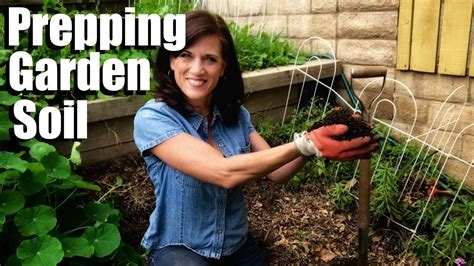 prepare garden soil planting vegetables 3 easy steps
