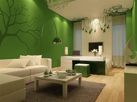 green minimalist living room paint color scheme 2020