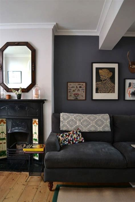 sue graeme eclectic victorian townhouse living room grey