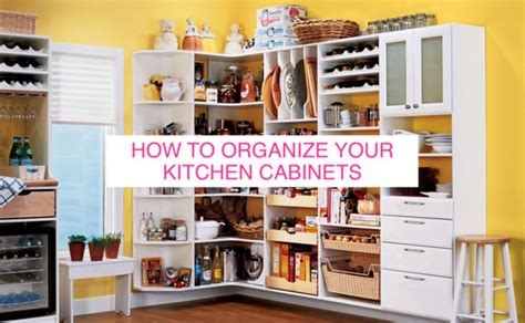 organize kitchen cabinets huffpost