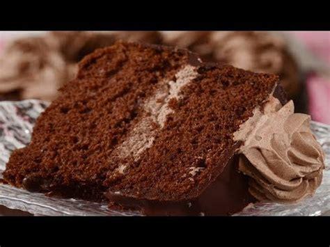 chocolate chiffon cake recipe demonstration joyofbaking youtube