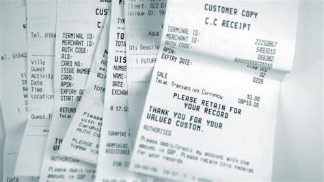 return receipt