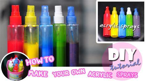 diy acrylic spray paint ว ธ ทำอะคร ล