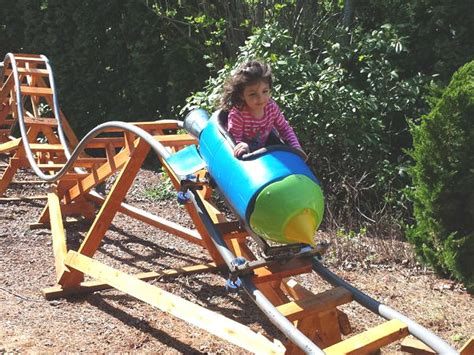 retired aerospace engineer builds backyard rollercoasters grandchildren sunday