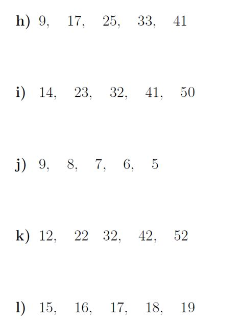 nth term arithmetic sequence worksheet 2 solutions worksheet