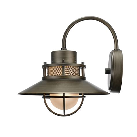 globe electric liam 1 light outdoor indoor wall