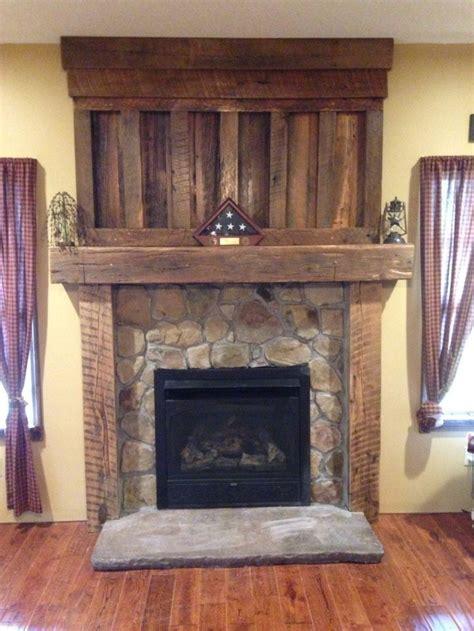 fireplace reclaimed wood reclaimed barn