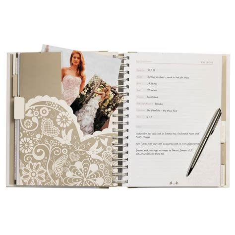 wedding planner book buy prezzybox