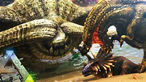 ark survival evolved epic monsters battle dominance ark