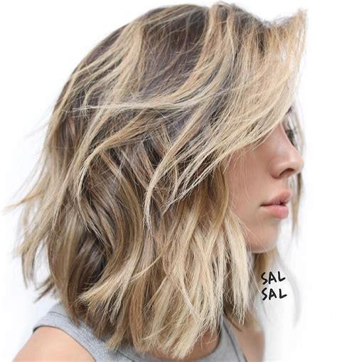 80 sensational medium length haircuts thick hair haircuts