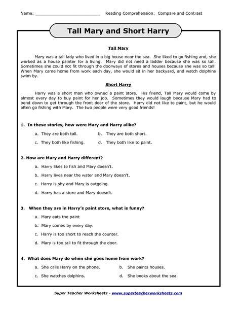 18 images super teacher worksheets reading blank reading