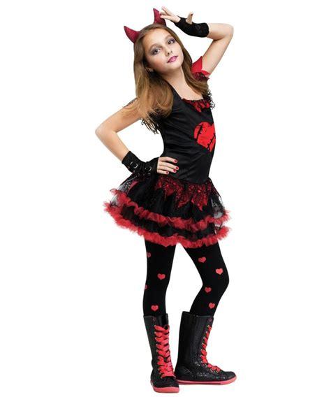 devil diva girls costume