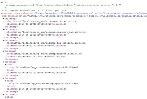 google xml sitemaps wordpress plugin wordpress