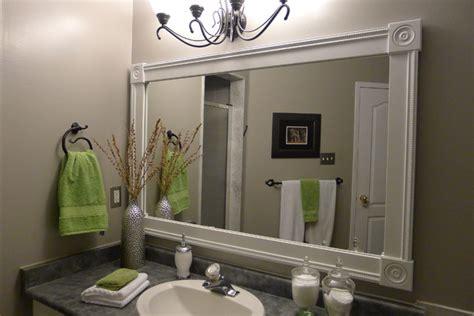 bathroom vanity custom mirror frame contemporary bathroom toronto
