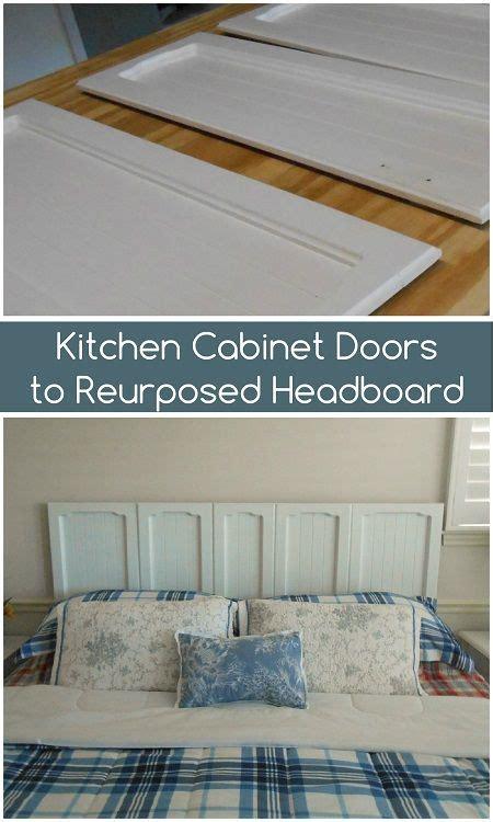 upcycled kitchen doors repurposed headboard repurposing ideas bedroom