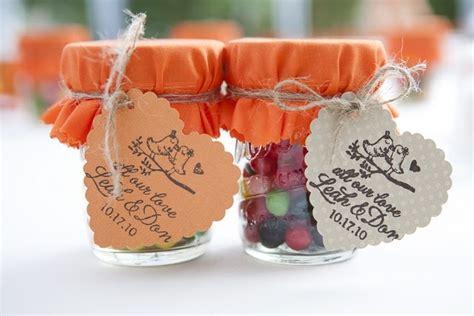 candy wedding favor mason jar