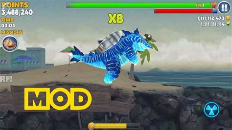 hungry shark evolution mod apk 6 7 0