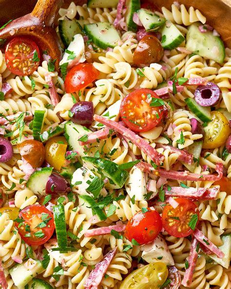 easy italian pasta salad kitchn