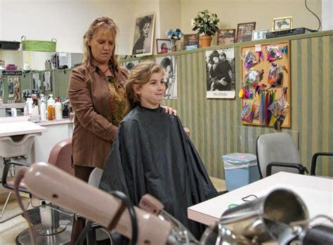 recorder goodbye hair hope montague girl donates locks