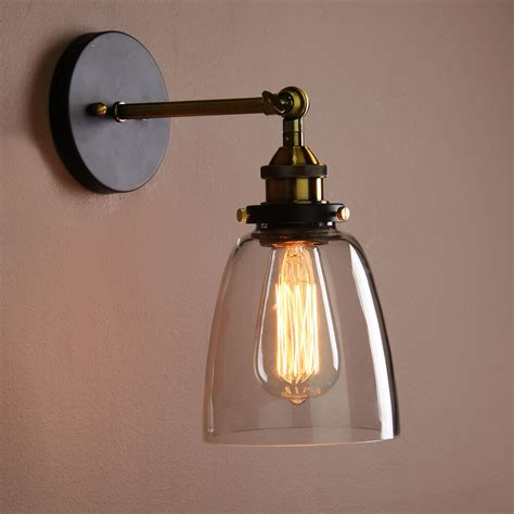 vintage industrial country style wall sconce light wall