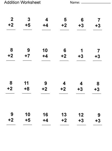 1st grade math worksheets additionf 561 761 grade