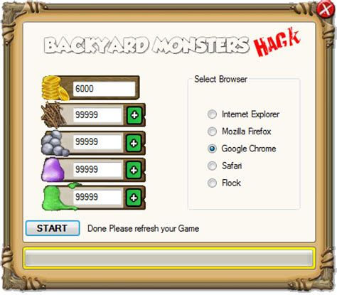 Backyard Monsters Cheats Download Hack
