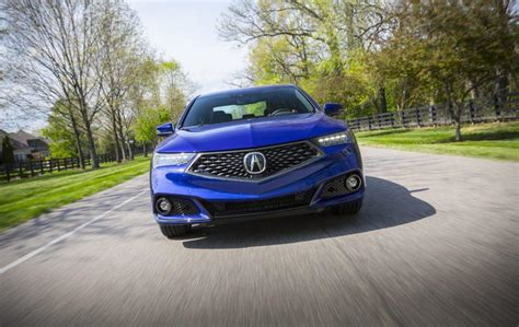2019 acura tlx spec 4 cylinder sports styling