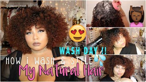 natural hair wash day wash style curly hair