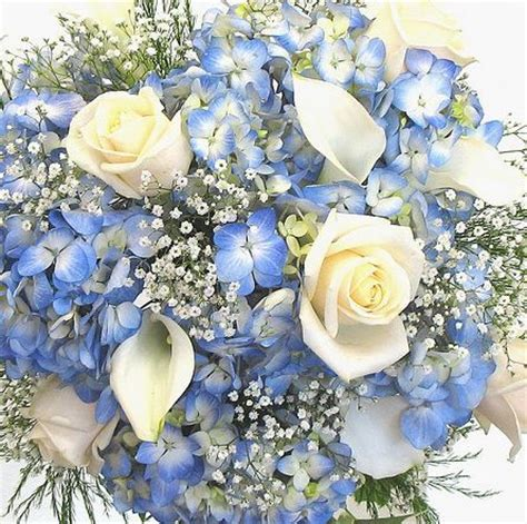 blue wedding flowers myfloweraffair blue wedding flowers pinterest