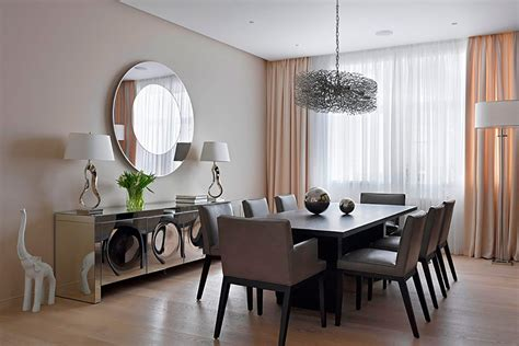 dining room wall decoration clocks decorate mirrors accessories