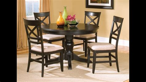 kitchen table chairs painting kitchen table chairs black