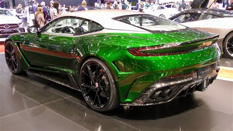 green mansory cyrus carbon touches based aston