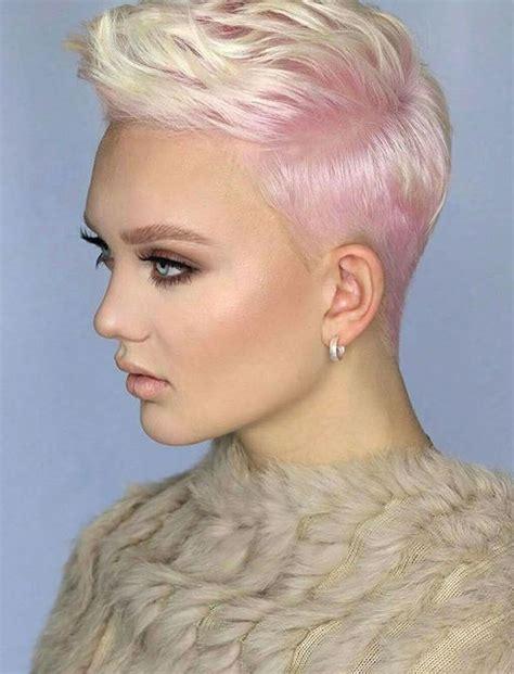 trend short haircuts 2018 2019 pixie hair ideas