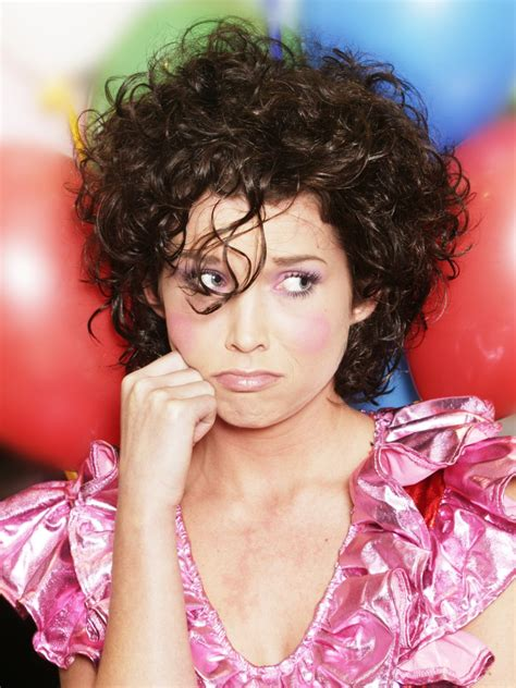 clown hairstyle natural curls cut reduce weight