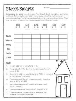 math logic puzzles 4th grade enrichment christy howe