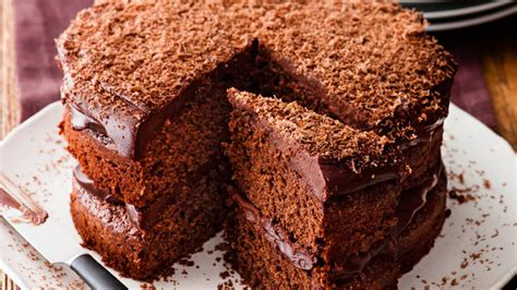 recipe simple chocolate cake sainsbury