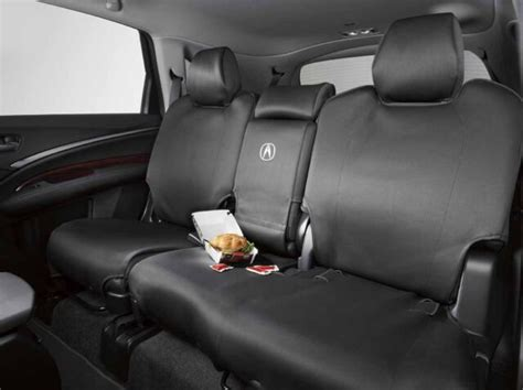 genuine acura mdx 2nd row seat cover protector