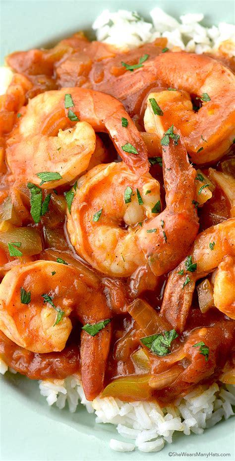shrimp creole recipe wears hats