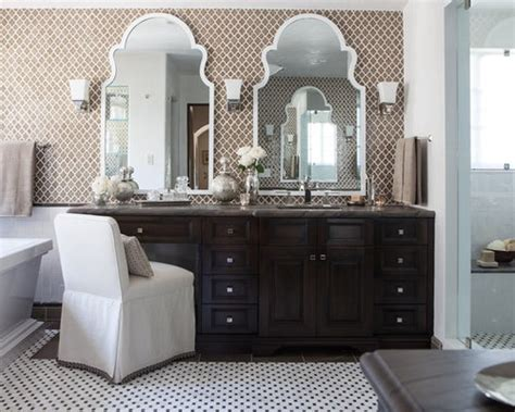 houzz master bath mirrors design ideas remodel pictures