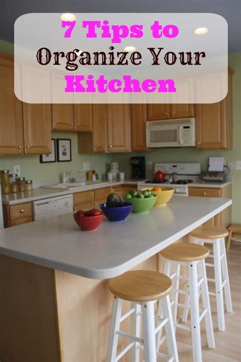 7 tips organize kitchen isavea2z