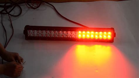 wire diagram dual color led warning light bar